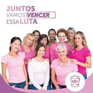 Juntos vamos vencer o câncer de mama e ginecológico!