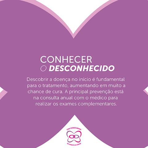 Prevenção e descoberta do câncer de mama no início