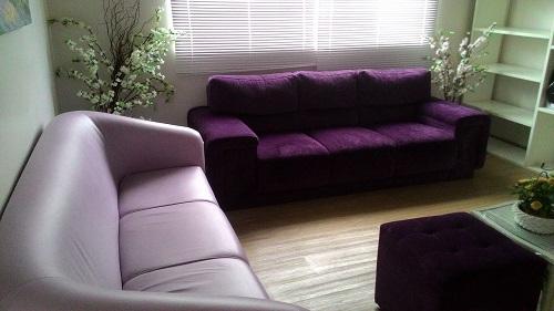 Sala de estar da Liga Sorocabana de Combate ao Câncer